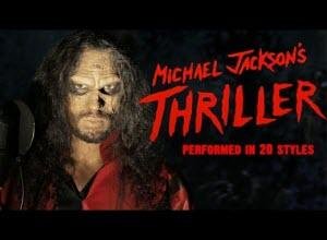 Το «Thriller» του Μάικλ Τζάκσον σε 20 εκδοχές