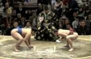 Η απίστευτη κίνηση παλαιστή Sumo
