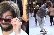 O Ρονάλντο ως άστεγος στους δρόμους