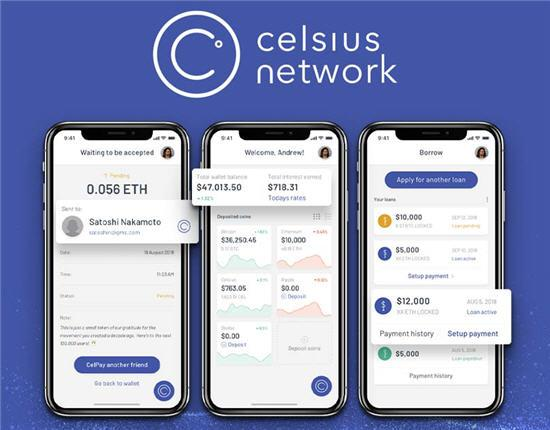 Celsius Network lending greek greece CEL Token