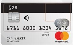 N26 Card Greek Greece Ellada Ελλάδα Mastercard ν26
