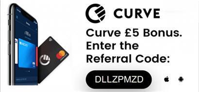 Curve card app κάρτα στην Ελλάδα Μπόνους bonus referral