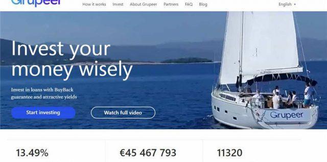 Grupeer P2P Lending Δάνεια στην Ελλάδα