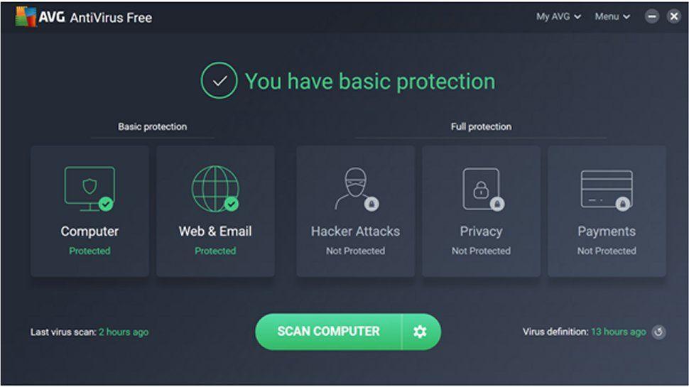 Kalitero Antivirus AVG