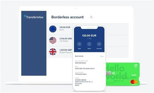 transferwise ellada greece greek mobile download app card